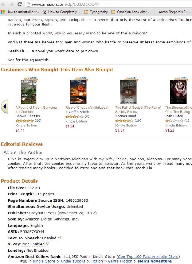 zombie bestseller